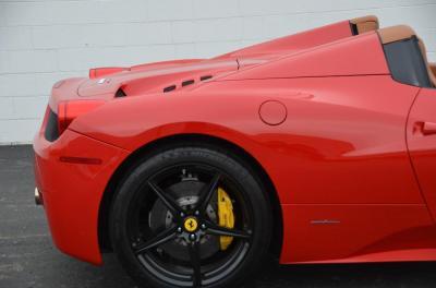Used 2013 Ferrari 458 Spider Used 2013 Ferrari 458 Spider for sale Sold at Cauley Ferrari in West Bloomfield MI 40