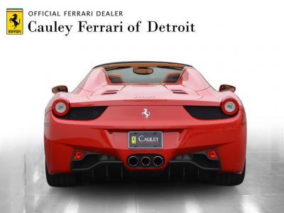 Used 2013 Ferrari 458 Spider Used 2013 Ferrari 458 Spider for sale Sold at Cauley Ferrari in West Bloomfield MI 7