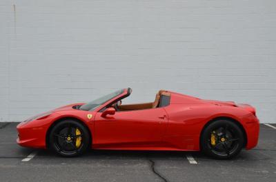 Used 2013 Ferrari 458 Spider Used 2013 Ferrari 458 Spider for sale Sold at Cauley Ferrari in West Bloomfield MI 9