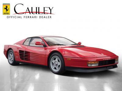 Used 1988 Ferrari Testarossa Used 1988 Ferrari Testarossa for sale $134,900 at Cauley Ferrari in West Bloomfield MI 4