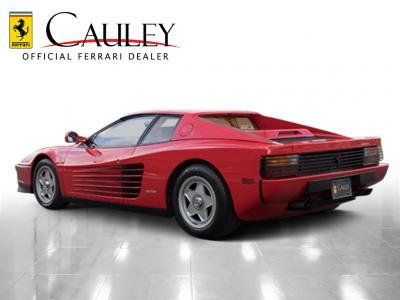 Used 1988 Ferrari Testarossa Used 1988 Ferrari Testarossa for sale $134,900 at Cauley Ferrari in West Bloomfield MI 8