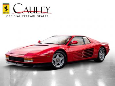 Used 1988 Ferrari Testarossa Used 1988 Ferrari Testarossa for sale $134,900 at Cauley Ferrari in West Bloomfield MI 1