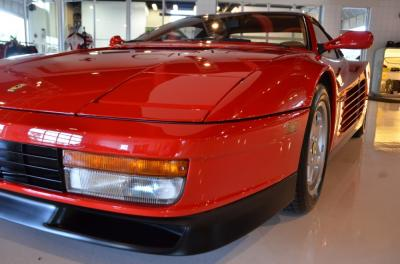 Used 1991 Ferrari Testarossa Used 1991 Ferrari Testarossa for sale Sold at Cauley Ferrari in West Bloomfield MI 11