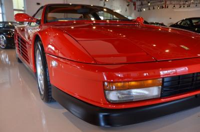Used 1991 Ferrari Testarossa Used 1991 Ferrari Testarossa for sale Sold at Cauley Ferrari in West Bloomfield MI 12