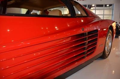 Used 1991 Ferrari Testarossa Used 1991 Ferrari Testarossa for sale Sold at Cauley Ferrari in West Bloomfield MI 23