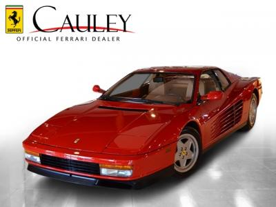 Used 1991 Ferrari Testarossa Used 1991 Ferrari Testarossa for sale Sold at Cauley Ferrari in West Bloomfield MI 3