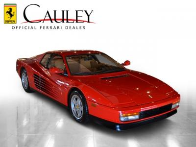 Used 1991 Ferrari Testarossa Used 1991 Ferrari Testarossa for sale Sold at Cauley Ferrari in West Bloomfield MI 5