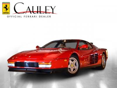 Used 1991 Ferrari Testarossa Used 1991 Ferrari Testarossa for sale Sold at Cauley Ferrari in West Bloomfield MI 1