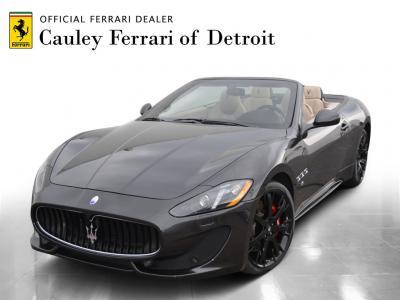 Used 2017 Maserati GranTurismo Sport Used 2017 Maserati GranTurismo Sport for sale Sold at Cauley Ferrari in West Bloomfield MI 1