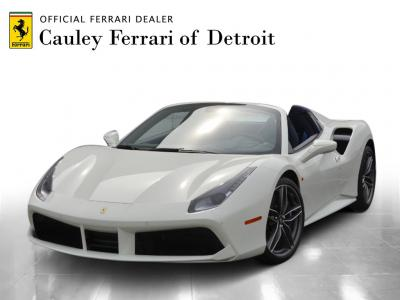 Used 2018 Ferrari 488 Spider Used 2018 Ferrari 488 Spider for sale $299,900 at Cauley Ferrari in West Bloomfield MI 1