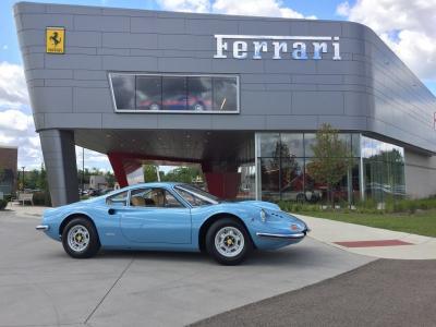 Used 1972 Ferrari Dino 246GT Used 1972 Ferrari Dino 246GT for sale Sold at Cauley Ferrari in West Bloomfield MI 37