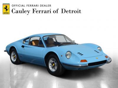 Used 1972 Ferrari Dino 246GT Used 1972 Ferrari Dino 246GT for sale Sold at Cauley Ferrari in West Bloomfield MI 4