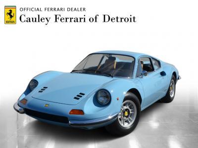 Used 1972 Ferrari Dino 246GT Used 1972 Ferrari Dino 246GT for sale Sold at Cauley Ferrari in West Bloomfield MI 1