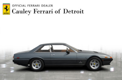Used 1984 Ferrari 400i Used 1984 Ferrari 400i for sale Sold at Cauley Ferrari in West Bloomfield MI 5