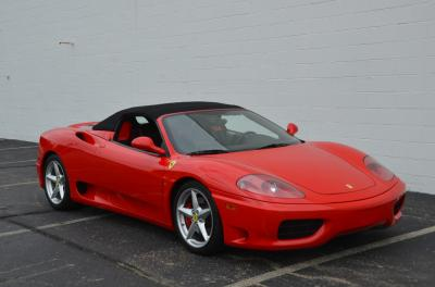 Used 2001 Ferrari 360 Spider Used 2001 Ferrari 360 Spider for sale Sold at Cauley Ferrari in West Bloomfield MI 12