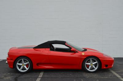 Used 2001 Ferrari 360 Spider Used 2001 Ferrari 360 Spider for sale Sold at Cauley Ferrari in West Bloomfield MI 13