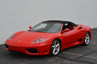 Used 2001 Ferrari 360 Spider Used 2001 Ferrari 360 Spider for sale Sold at Cauley Ferrari in West Bloomfield MI 18