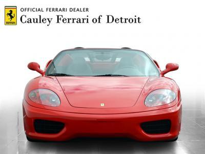 Used 2001 Ferrari 360 Spider Used 2001 Ferrari 360 Spider for sale Sold at Cauley Ferrari in West Bloomfield MI 3