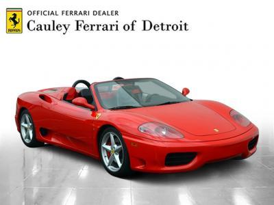 Used 2001 Ferrari 360 Spider Used 2001 Ferrari 360 Spider for sale Sold at Cauley Ferrari in West Bloomfield MI 4