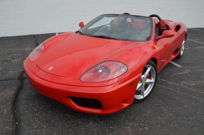Used 2001 Ferrari 360 Spider Used 2001 Ferrari 360 Spider for sale Sold at Cauley Ferrari in West Bloomfield MI 55