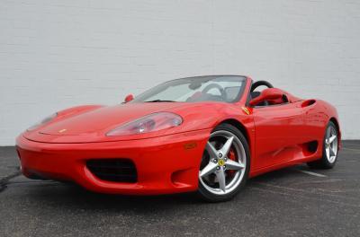 Used 2001 Ferrari 360 Spider Used 2001 Ferrari 360 Spider for sale Sold at Cauley Ferrari in West Bloomfield MI 56