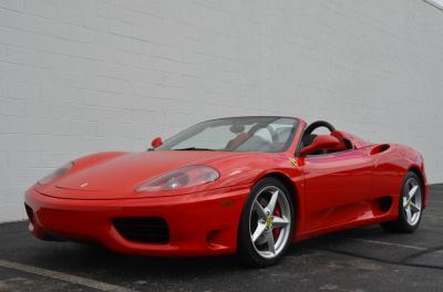 Used 2001 Ferrari 360 Spider Used 2001 Ferrari 360 Spider for sale Sold at Cauley Ferrari in West Bloomfield MI 58