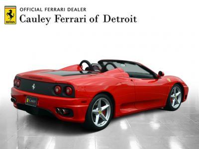 Used 2001 Ferrari 360 Spider Used 2001 Ferrari 360 Spider for sale Sold at Cauley Ferrari in West Bloomfield MI 6