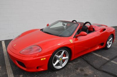 Used 2001 Ferrari 360 Spider Used 2001 Ferrari 360 Spider for sale Sold at Cauley Ferrari in West Bloomfield MI 63