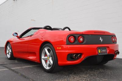 Used 2001 Ferrari 360 Spider Used 2001 Ferrari 360 Spider for sale Sold at Cauley Ferrari in West Bloomfield MI 71