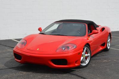 Used 2001 Ferrari 360 Spider Used 2001 Ferrari 360 Spider for sale Sold at Cauley Ferrari in West Bloomfield MI 81