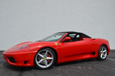 Used 2001 Ferrari 360 Spider Used 2001 Ferrari 360 Spider for sale Sold at Cauley Ferrari in West Bloomfield MI 85