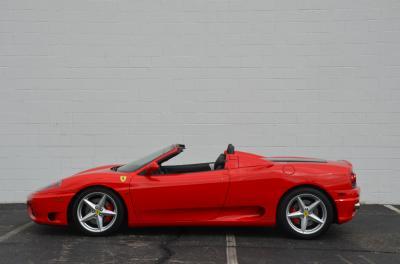 Used 2001 Ferrari 360 Spider Used 2001 Ferrari 360 Spider for sale Sold at Cauley Ferrari in West Bloomfield MI 9