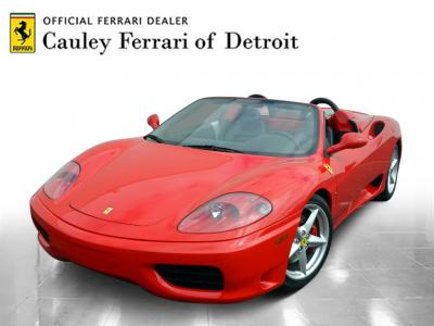 Used 2001 Ferrari 360 Spider Used 2001 Ferrari 360 Spider for sale Sold at Cauley Ferrari in West Bloomfield MI 1