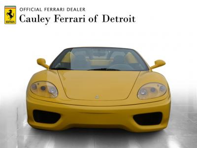 Used 2004 Ferrari 360 Spider Used 2004 Ferrari 360 Spider for sale $89,900 at Cauley Ferrari in West Bloomfield MI 3