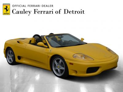 Used 2004 Ferrari 360 Spider Used 2004 Ferrari 360 Spider for sale $89,900 at Cauley Ferrari in West Bloomfield MI 4
