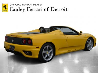 Used 2004 Ferrari 360 Spider Used 2004 Ferrari 360 Spider for sale $89,900 at Cauley Ferrari in West Bloomfield MI 6