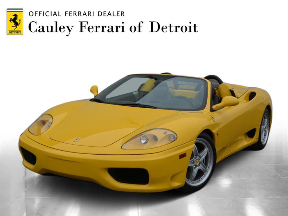 Used 2004 Ferrari 360 Spider