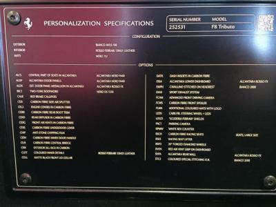 New 2020 Ferrari F8 Tributo New 2020 Ferrari F8 Tributo for sale Sold at Cauley Ferrari in West Bloomfield MI 102