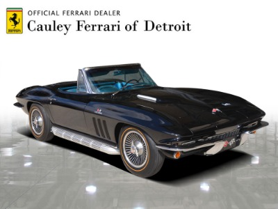 Used 1966 Chevrolet Corvette Convertible Used 1966 Chevrolet Corvette Convertible for sale $119,900 at Cauley Ferrari in West Bloomfield MI 4