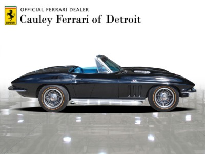 Used 1966 Chevrolet Corvette Convertible Used 1966 Chevrolet Corvette Convertible for sale $119,900 at Cauley Ferrari in West Bloomfield MI 5