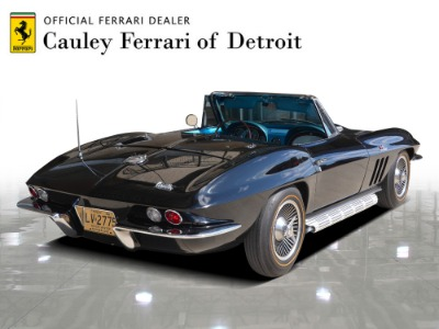 Used 1966 Chevrolet Corvette Convertible Used 1966 Chevrolet Corvette Convertible for sale $119,900 at Cauley Ferrari in West Bloomfield MI 6