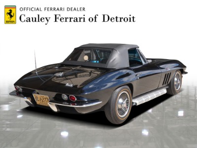 Used 1966 Chevrolet Corvette Convertible Used 1966 Chevrolet Corvette Convertible for sale $119,900 at Cauley Ferrari in West Bloomfield MI 9