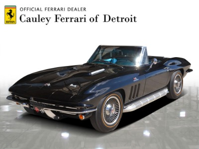 Used 1966 Chevrolet Corvette Convertible Used 1966 Chevrolet Corvette Convertible for sale $119,900 at Cauley Ferrari in West Bloomfield MI 1