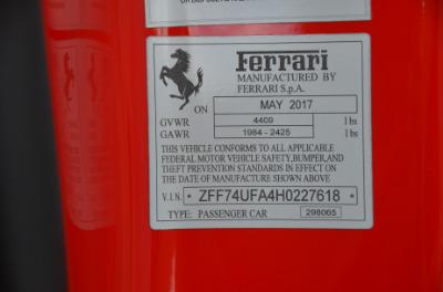 Used 2017 Ferrari F12berlinetta Used 2017 Ferrari F12berlinetta for sale Sold at Cauley Ferrari in West Bloomfield MI 103