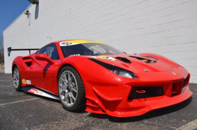 Used 2017 Ferrari 488 GTB Challenge Used 2017 Ferrari 488 GTB Challenge for sale Sold at Cauley Ferrari in West Bloomfield MI 66