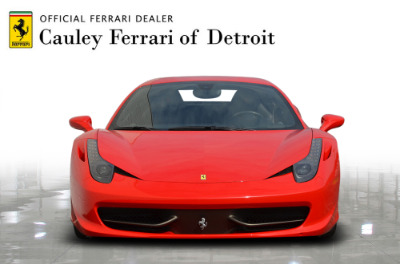Used 2013 Ferrari 458 Italia Used 2013 Ferrari 458 Italia for sale Sold at Cauley Ferrari in West Bloomfield MI 3