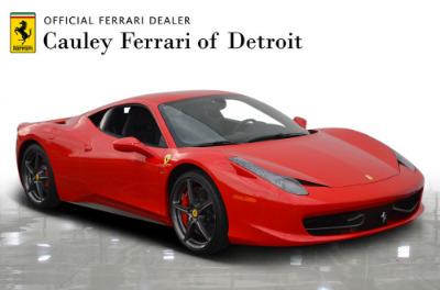 Used 2013 Ferrari 458 Italia Used 2013 Ferrari 458 Italia for sale Sold at Cauley Ferrari in West Bloomfield MI 4