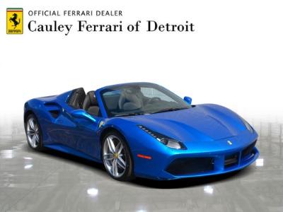 Used 2018 Ferrari 488 Spider Used 2018 Ferrari 488 Spider for sale $299,900 at Cauley Ferrari in West Bloomfield MI 4