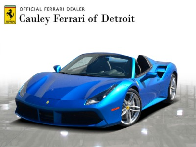 Used 2018 Ferrari 488 Spider Used 2018 Ferrari 488 Spider for sale $299,900 at Cauley Ferrari in West Bloomfield MI 1