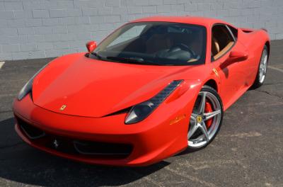 Used 2011 Ferrari 458 Italia Used 2011 Ferrari 458 Italia for sale Sold at Cauley Ferrari in West Bloomfield MI 48